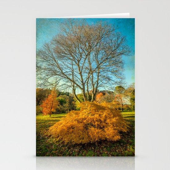 Autumnal Garden Stationery Cards
