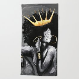 Naturally Queen VI Beach Towel
