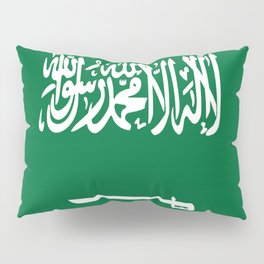 Flag Of Saudi Arabia  Pillow Sham