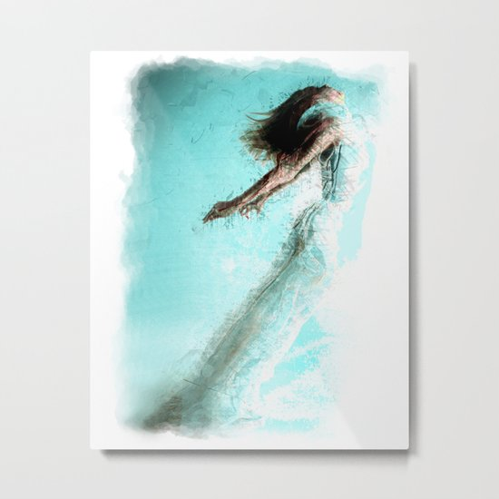 Soaring!  Digital Print by Mark Compton Metal Print