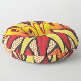 Comic Book POW! Floor Pillow