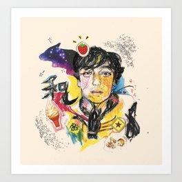 Peace 2 U Art Print