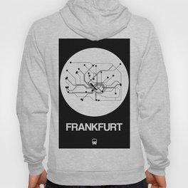 Frankfurt White Subway Map Hoody