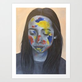 Primary Colors Art Print