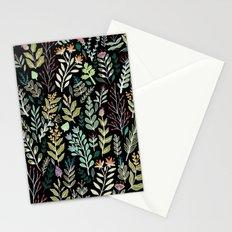 Dark Botanic Stationery Cards