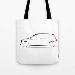 Clio silhouette Tote Bag