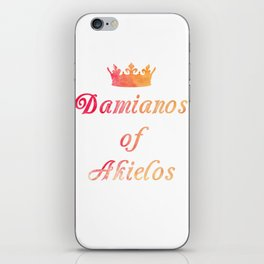 The King's Son Lives iPhone Skin