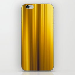 Abstract background blur motion golden moments iPhone Skin