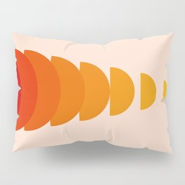 Abstraction_Sunset_Modernism_ART_Minimalism_001 Pillow Sham
