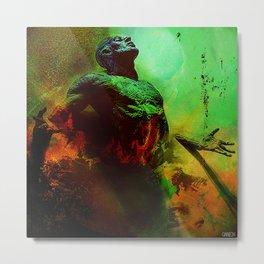 Soul in the purgatory Metal Print