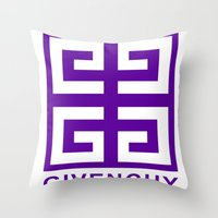 givenchy Throw Pillows featuring Givenchy  by I Love Decor