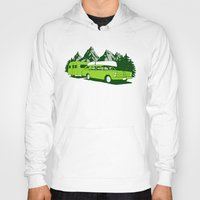 camping Hoodies featuring Camping trip by Grilldress