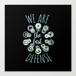 we are the last defense v2 - lorien legacies Canvas Print
