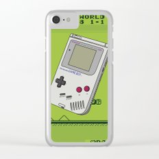 Game with me Boy Clear iPhone Case