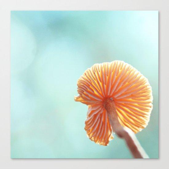 Tiny Tropical Cricket Canopy Canvas Print