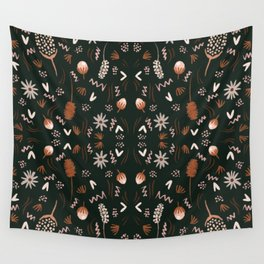 Autumn feeling pattern Wall Tapestry