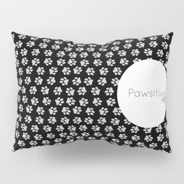 Pawsitive Paws - dog lover animals pattern Pillow Sham