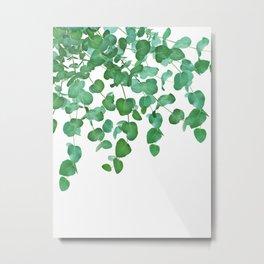 Eucalyptus Delight #2 #foliage #decor #art #society6 Metal Print