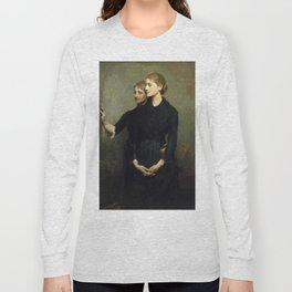 Abbott H. Thayer - The Sisters, 1884 Long Sleeve T-shirt
