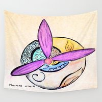 witchcraft Wall Tapestries featuring Witchcraft by Thumpsy