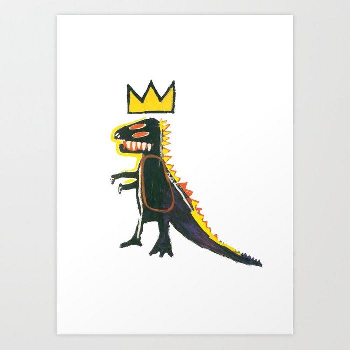 Dinosaur: Homage to Basquiat Kunstdrucke