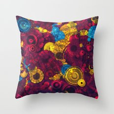 everything is purple Throw Pillow