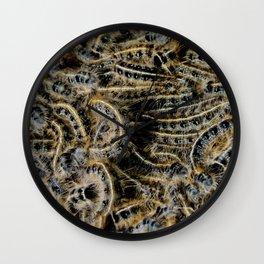Tree Killing Caterpillars Wall Clock