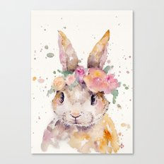 Little Bunny Canvas Print