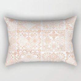 MOROCCAN TILES ROSEGOLD Rectangular Pillow