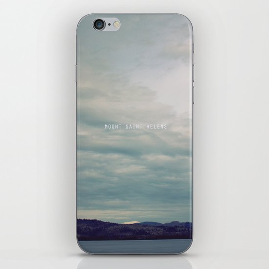 Mount St. Helens iPhone & iPod Skin
