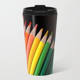 Colored Pencils Travel Mug