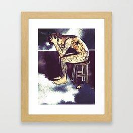 Blackened Sky/Puzzle Framed Art Print
