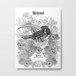 Huia Metal Print