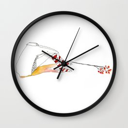 No Head Wall Clock