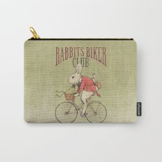 Rabbits Biker Club Carry-All Pouch