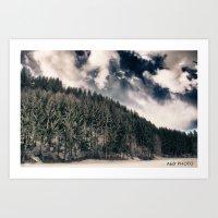 Carpathian Landscape Art Print