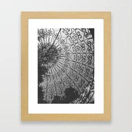 Ironwork Framed Art Print