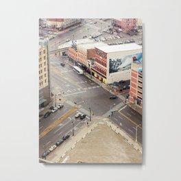Downtown Detroit 3 Metal Print