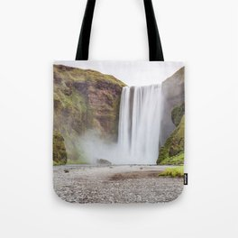 Skogafoss waterfall Tote Bag