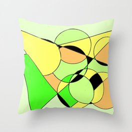 Bubbling over with Joy!                  by Kay Lipton Throw Pillow