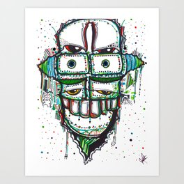 Stacker Art Print