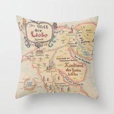 Die Welt der Liebe Throw Pillow
