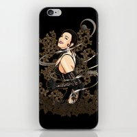 gothic iPhone & iPod Skins featuring Gothic by Benimarudo