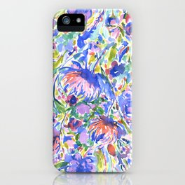 Maximal Floral Wild & Free iPhone Case