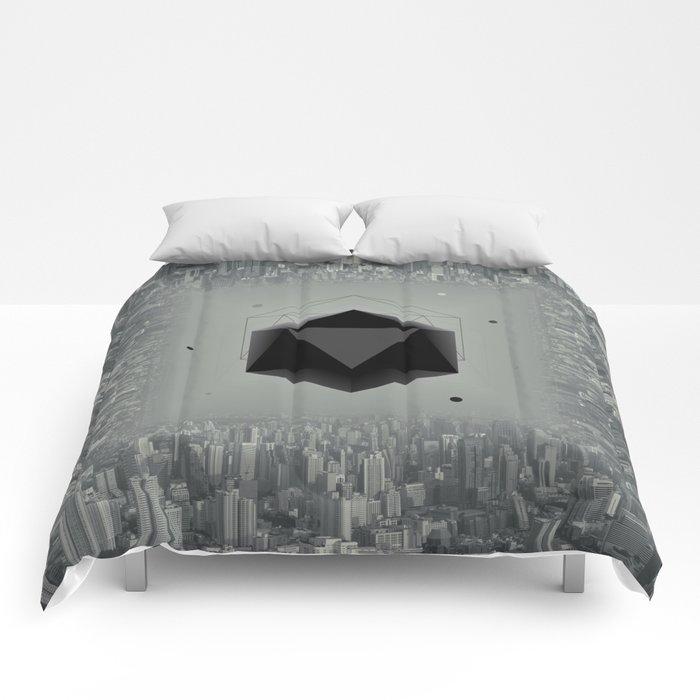 City Intruder Comforters