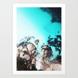 Ocean Rock Formation Art Print
