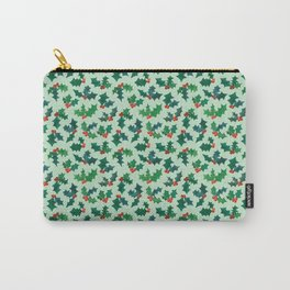 Holly Jolly - Winterberry Carry-All Pouch