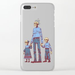 The Future is Bleak Clear iPhone Case