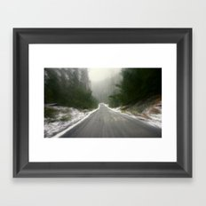 It's cold Down - Under! Framed Art Print