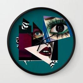 Ebony Fleece Wall Clock